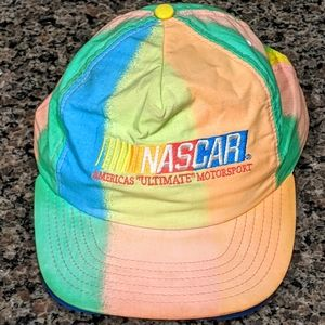 Vintage Colorful NASCAR Snapback Hat